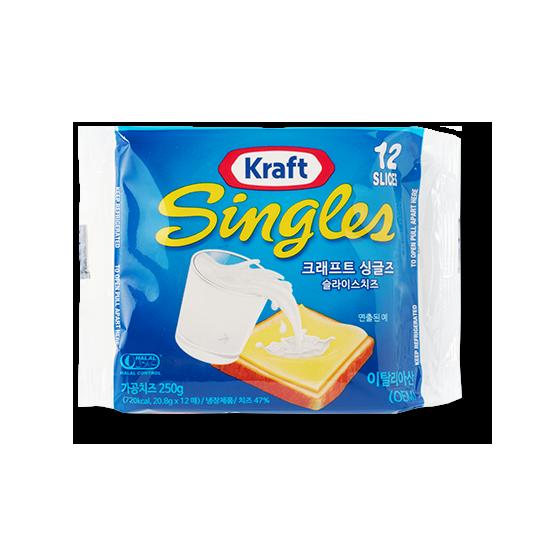 크래프트 싱글즈 슬라이스 치즈 250g