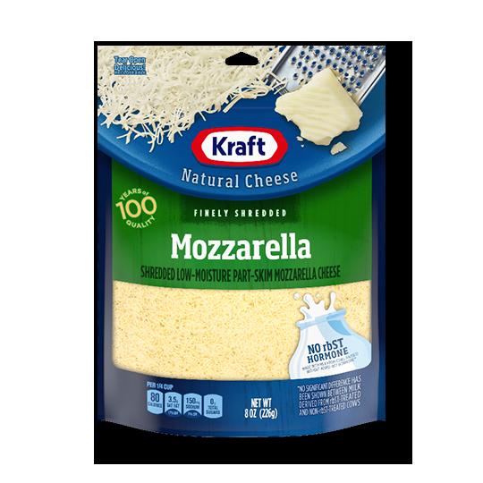 크래프트 슈레드 모짜렐라 치즈