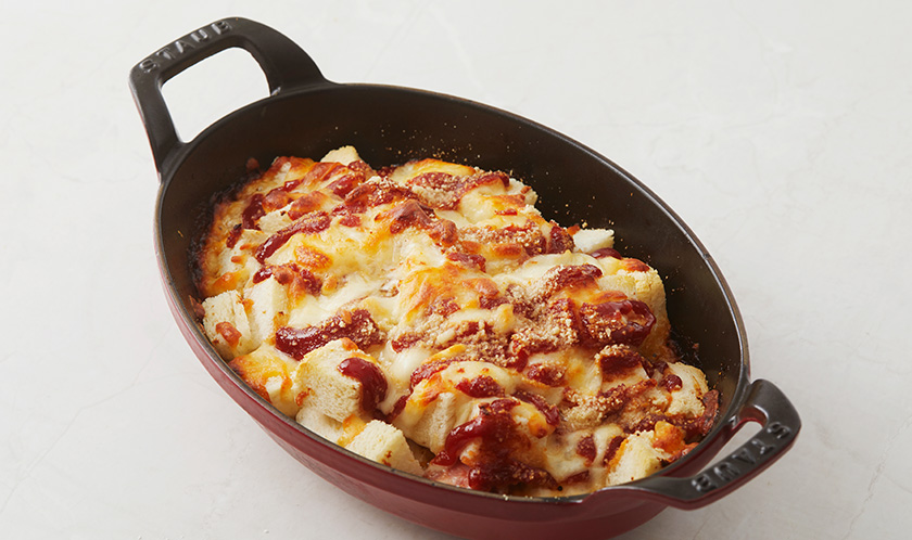 200℃로 예열한 오븐에서 10분간 굽는다.